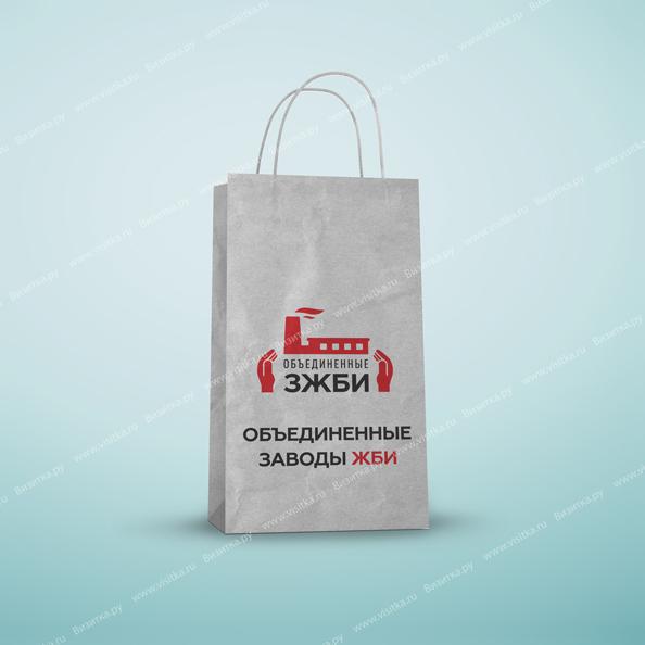 Бумажные крафт пакеты с логотипом небольшой тираж