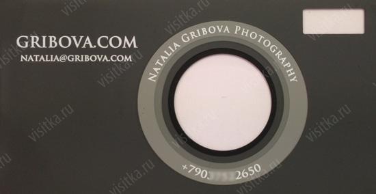визитки образцы фотографа - фото 6